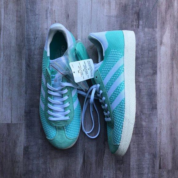 Acuoso Prestigioso unir  adidas Shoes | Gazelle Primeknit Lowtop Sneakers Green | Poshmark